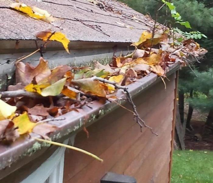 Water Damage Clogged Gutters and Water Damage
